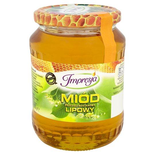 Impresja Miód pszczeli nektarowy lipowy 900 g