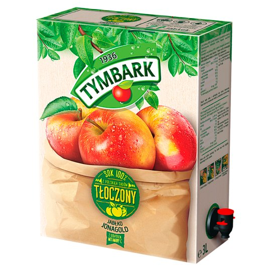 Tymbark 100% Pressed Juice from Jonagold Apples 3 L