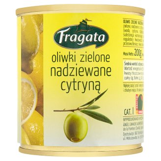 Fragata Green Olives Stuffed with Lemon 200 g