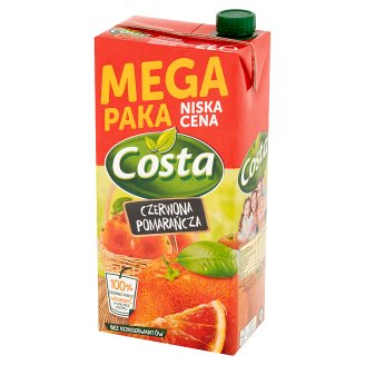 Costa Red Orange Drink 2 L