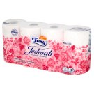 Foxy Silk Toilet Paper 8 Rolls