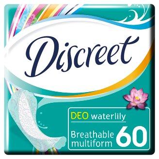 Discreet Waterlily Multiform Oddychające wkładki higieniczne 60 sztuk