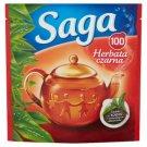 Saga Black Tea 140 g (100 Tea Bags)