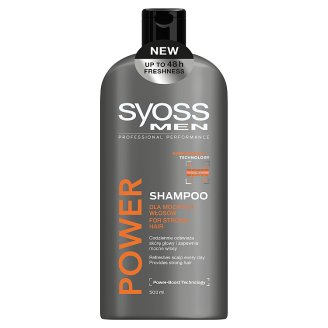 Syoss Men Power Shampoo 500 ml