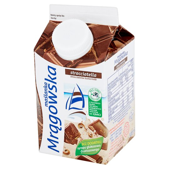 Mlekpol Maślanka Mrągowska stracciatella 500 ml