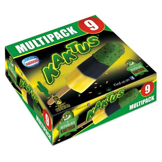 Kaktus Lody wodne o smaku cytrynowo-jagodowym 405 ml (9 x 45 ml)