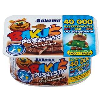 Bakoma Bakuś Puszysty serek o smaku czekoladowym 90 g