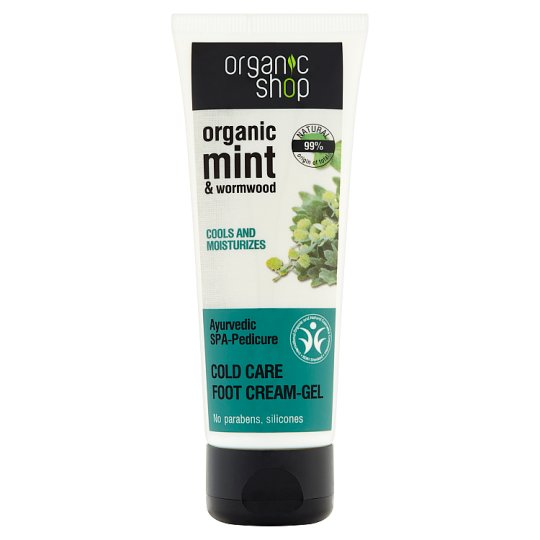 Organic Shop Cold Care Foot Cream-Gel 75 ml