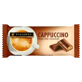 Ryelands Chocolates Cappuccino Filled Milk Chocolate 100 g