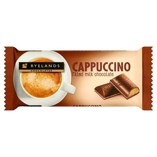 Ryelands Chocolates Czekolada mleczna z nadzieniem o smaku cappuccino 100 g