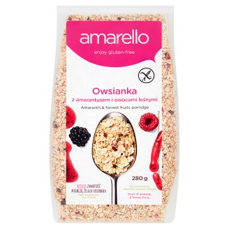 Amarello Amaranth & Forest Fruits Porridge 280 g