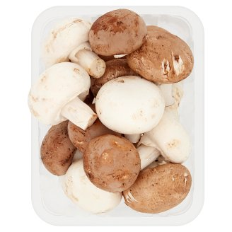 Tesco White and Brown Polish Mushrooms 500 g