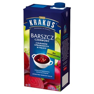 Krakus Red Borscht Soup 1 L