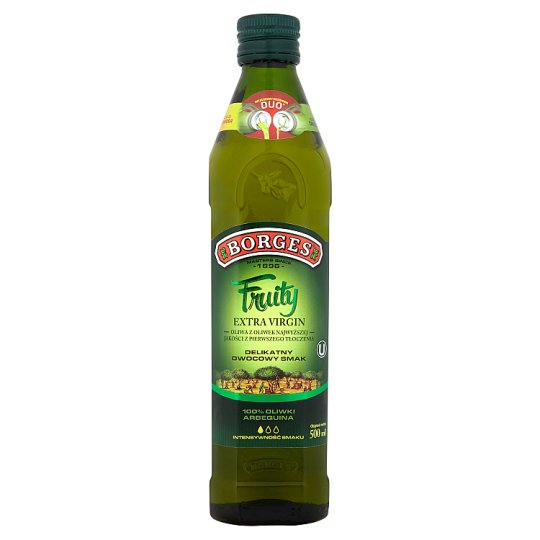 Borges Fruity Extra Virgin Olive Oil 500 ml