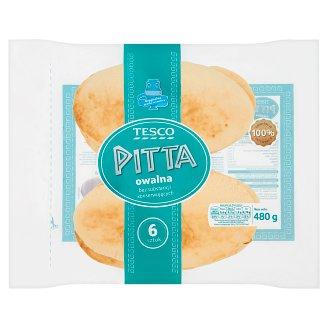 Tesco Oval Pitta 480 g (6 Pieces)