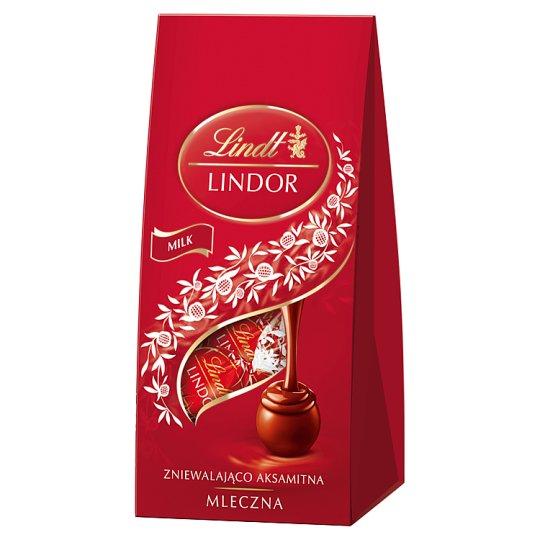 Lindt Lindor Pralinki z czekolady mlecznej z nadzieniem 100 g