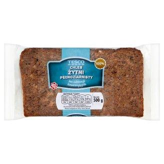 Tesco Wholemeal Rye Bread 500 g
