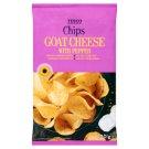 Tesco Chipsy ziemniaczane o smaku sera koziego i czarnego pieprzu 150 g