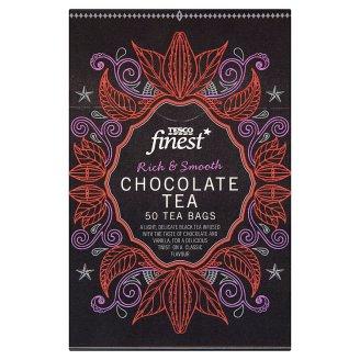 Tesco Finest Herbata czarna o smaku czekoladowym 125 g (50 torebek)