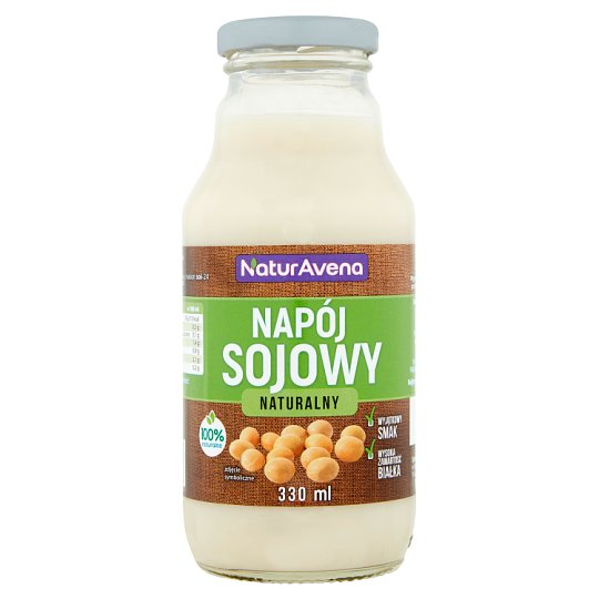 NaturAvena Natural Soya Drink 330 ml
