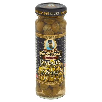 Kaiser Franz Josef Exclusive Capers in Salty-Sour Brine 100 g