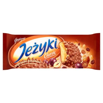 Jeżyki Classic Biscuits in Milk Chocolate 140 g