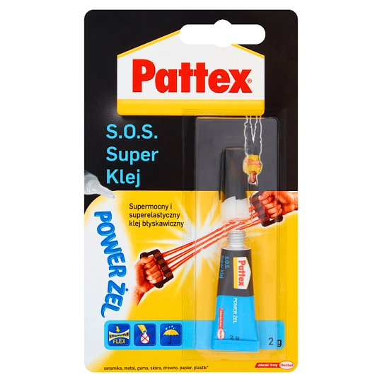 Pattex S.O.S. Super Klej power żel 2 g