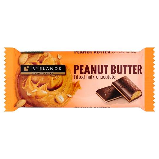 Ryelands Chocolates Peanut Butter Filled Milk Chocolate 100 g