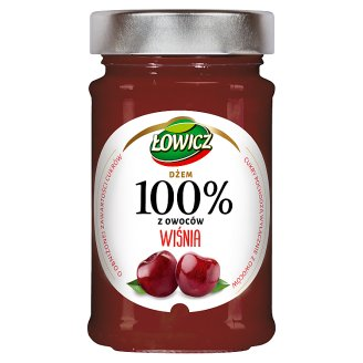 Łowicz Cherry 100% Fruits 220 g