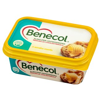 Benecol Butter Flavour Vegetable Margarine with Plant Stanols 225 g