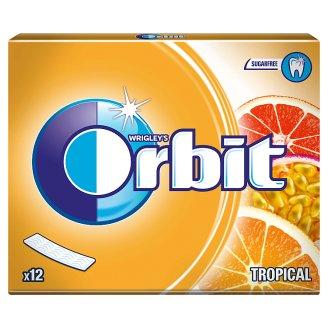 Orbit Tropical Sugarfree Chewing Gum 31 g (12 Pieces)