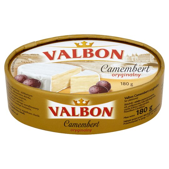 Valbon Original Camembert Cheese 180 g