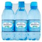Tesco Muszyna Naturalna woda mineralna wysokozmineralizowana lekko gazowana 6 x 330 ml