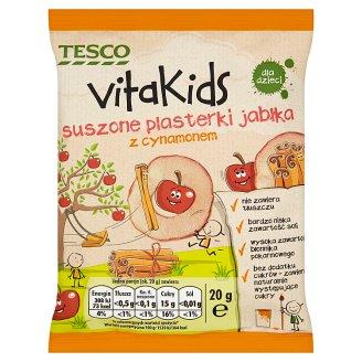 Tesco Vita Kids Suszone plasterki jabłka z cynamonem 20 g
