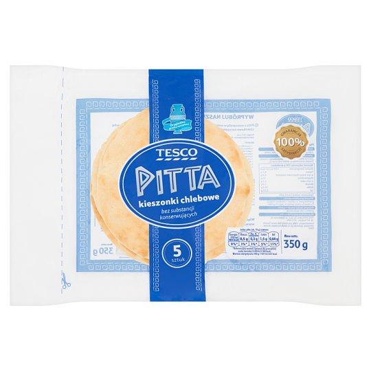 Tesco Pitta Bread Pockets 350 g (5 Pieces)