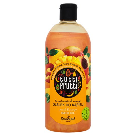 Farmona Tutti Frutti Peach & Mango Bath Oil 500 ml