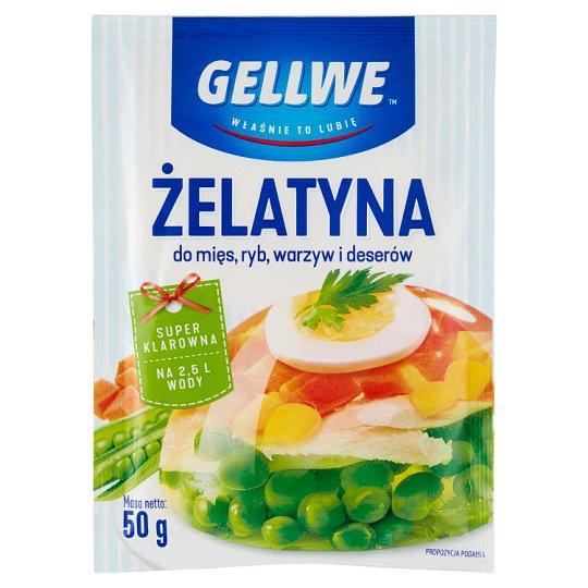 Gellwe Gelatine 50 g