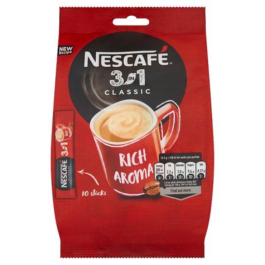 Nescafé 3in1 Classic Instant Coffee Drink 165 g (10 x 16.5 g)