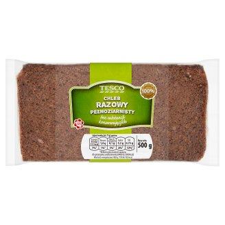 Tesco Chleb razowy pełnoziarnisty 500 g
