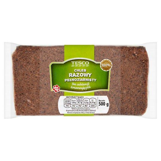 Tesco Wholemel Whole Grain Bread 500 g