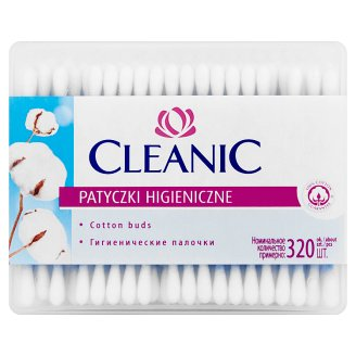 Cleanic Cotton Buds 320 Pieces