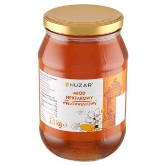 Huzar Miód pszczeli nektarowy wielokwiatowy 2,1 kg
