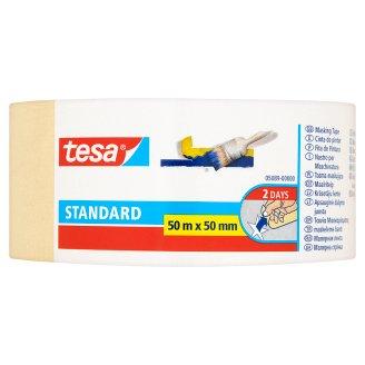 Tesa Standard Taśma maskująca 50 m x 50 mm