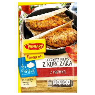 Winiary Pomysł na... Juicy Chicken Breast with Paprika 23.2 g