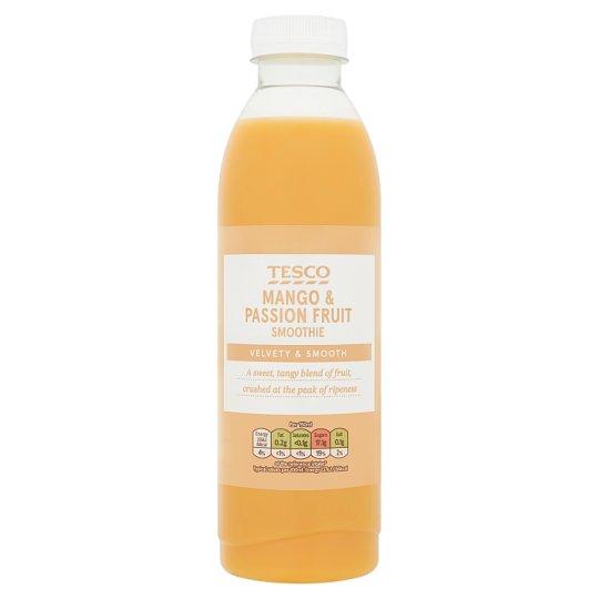 Tesco Mango and Passion Fruit Smoothie 750 ml