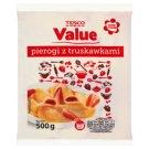 Tesco Value Pierogi z truskawkami 500 g