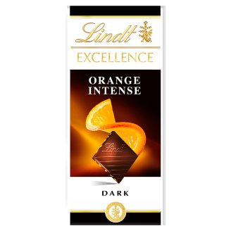 Lindt Excellence Intense Orange Dark Chocolate 100 g