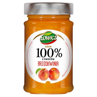 Łowicz Peach 100% Fruits 220 g