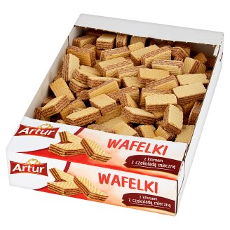 Artur Wafers with Cream with Chocolate Milk 650 g