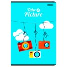Top 2000 A5 Squared 32 Pages Notebook